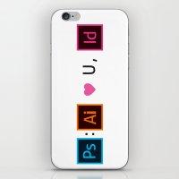 Designer's Valentine's Card iPhone & iPod Skin