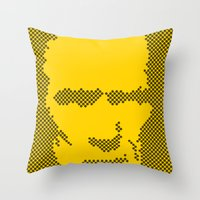 Harry Dots Throw Pillow