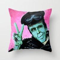 Munster Go Home! Throw Pillow