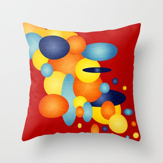 Retro Show Off!  Throw Pillow