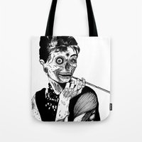 Zombie at Tiffany's Tote Bag