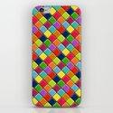 neon keyboard iPhone & iPod Skin