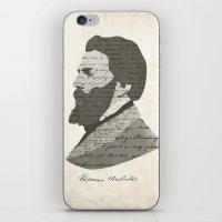 Herman Melville iPhone & iPod Skin
