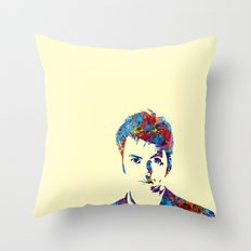 David Tennant - Doctor Who Throw Pillow