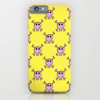 Pink Lemonade Punk Skulls iPhone 6 Slim Case