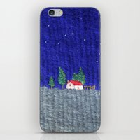 Night Scenes iPhone & iPod Skin