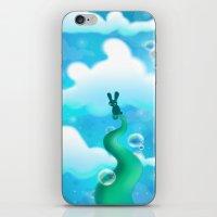 Beanstalk Bunny iPhone & iPod Skin