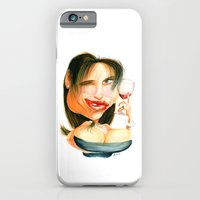 iPhone & iPod Case featuring Wine Snob No.4 by drawgood
