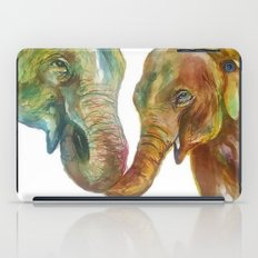 Mommy and Baby Elephant iPad Case