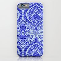 iPhone & iPod Case featuring Simple Ogee Blue by Aimee St Hill