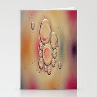 Kaleidoscope: Oil & Wate… Stationery Cards