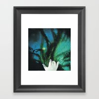 Mano Invisible... Framed Art Print