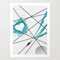 Love this song... Art Print