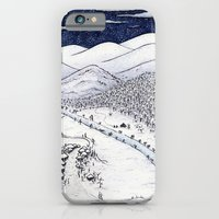 Snowy Night In Japan iPhone 6 Slim Case