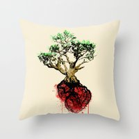 Love Your Roots Throw Pillow