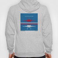 No128 My TOP GUN minimal movie poster Hoody