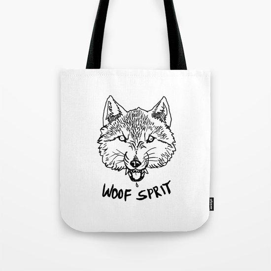 Woof Sprit! Tote Bag