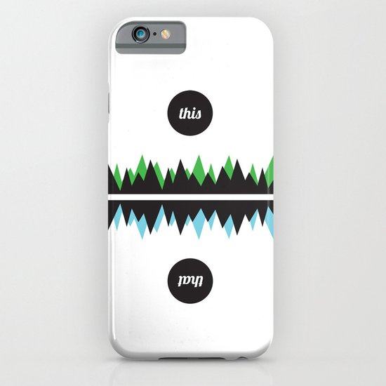 This & That iPhone & iPod Case