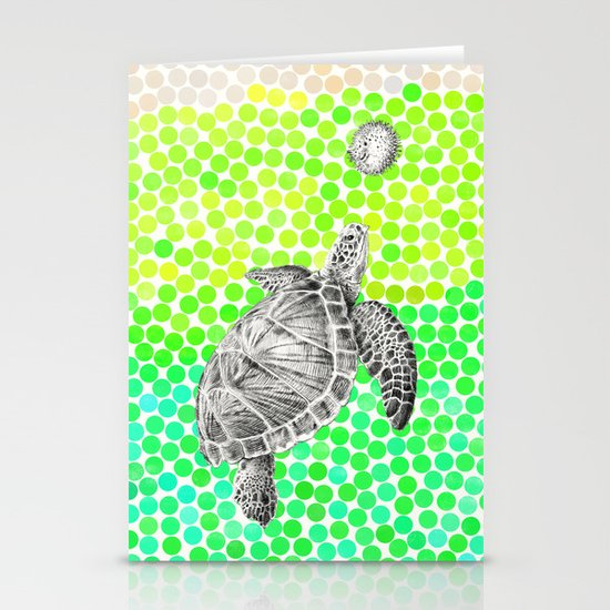 New Friends 1 by Eric Fan and Garima Dhawan Stationery Card