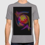 Abstract Perfection 59 Mens Fitted Tee Athletic Grey LARGE