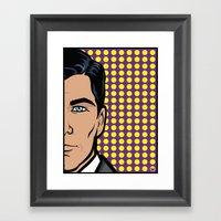 Sterling Archer Of ISIS.… Framed Art Print