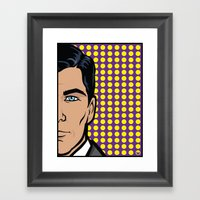 Sterling Archer Of ISIS.… Framed Art Print
