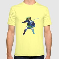 The Legend of Zelda Mens Fitted Tee Lemon SMALL