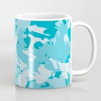Ocean Camouflage Mug