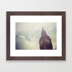 Gloomy Days of London Framed Art Print