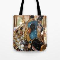 Carousel Horse 2 Tote Bag