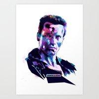 Arnold Schwarzenegger: B… Art Print