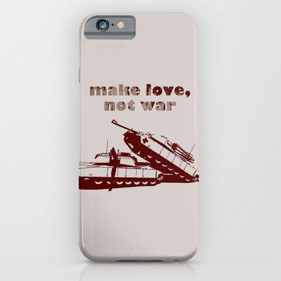 Make love, not war! iPhone & iPod Case