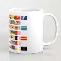 SH as flags Mug