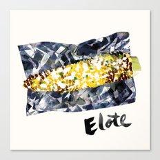 Elote | 100 Days of Cookbook Spots Canvas Print