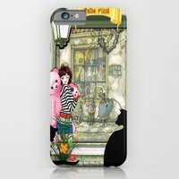 iPhone Cases featuring Toyshop in old Amsterdam by Just Kidding