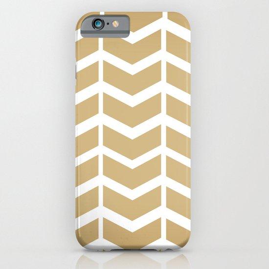golden chevron iPhone & iPod Case
