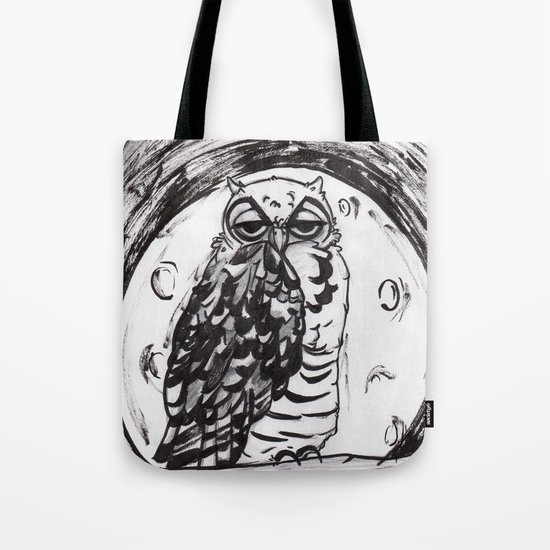 Night Owl v.1 Tote Bag