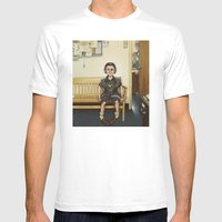 Loki Outside The Princip… Mens Fitted Tee White SMALL