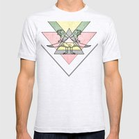 siamo tyrex Mens Fitted Tee Ash Grey SMALL