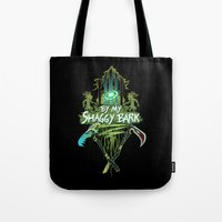 By My Shaggy Bark! Tote Bag