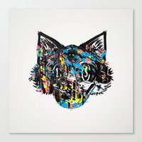 The Creative Cat (Alt. Colorway) Canvas Print