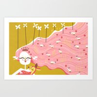 How Beautiful You Are (by Andrew Kolb) Art Print