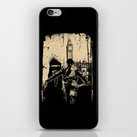 Attack This Town iPhone & iPod Skin
