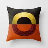 Abstract #112 Throw Pillow