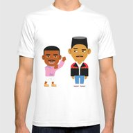 The Fresh Prince (Versio… Mens Fitted Tee White SMALL