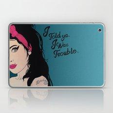 Told ya, I Was Trouble Laptop & iPad Skin