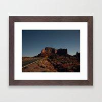 Open Range Framed Art Print