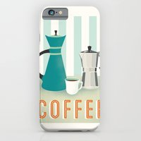 iPhone & iPod Case featuring Coffee by Jenny Tiffany