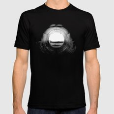 curl. Mens Fitted Tee Black SMALL