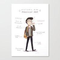Anatomy Of The Parisian … Canvas Print